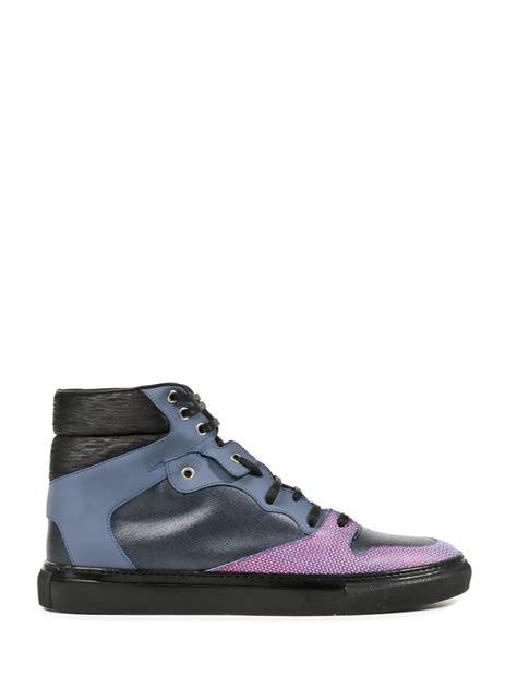 balenciaga black sneakers balenciaga sneaker in multicolor for black lyst