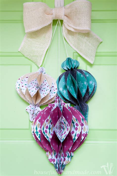 diy paper ornaments 20 easy paper ornaments for tip junkie