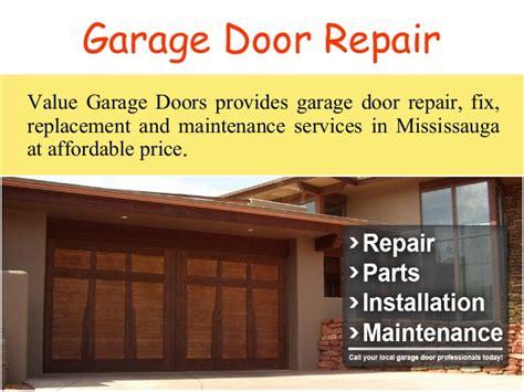 Garage Door Repair Delaware Garage Door Repair Mississauga Value Garage Doors