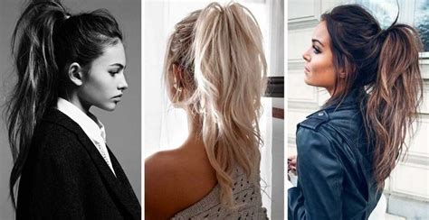 hair long enough for a ponytail running late hairstyle inspiration hairtrade blog