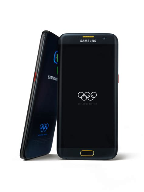 Samsung S7 Limited Edition Samsung Gives 12 500 S7 Edge Phones To Olympians Gadget