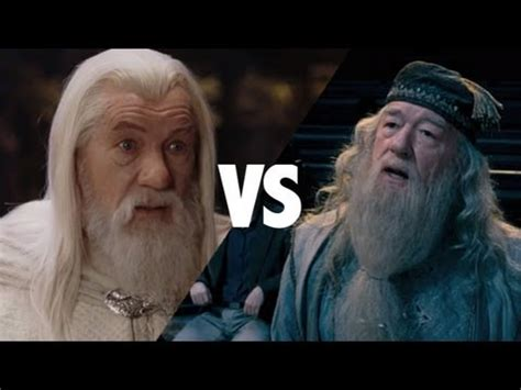 actor who plays gandalf and dumbledore gandalf vs dumbledore youtube