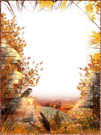 cornici autunno cornici foto strada di autunno
