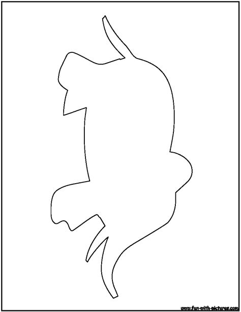 elephant outline coloring pages elephant outline coloring page