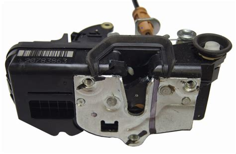 2009 silverado door lock actuator part number 2009 2011 silverado rear lh door lock actuator w