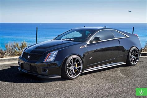 cadillac cts v coupe custom cadillac cts v coupe verde custom wheels montclair ca