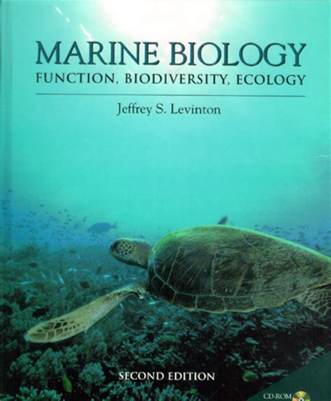 marine biology by jeffrey levinton