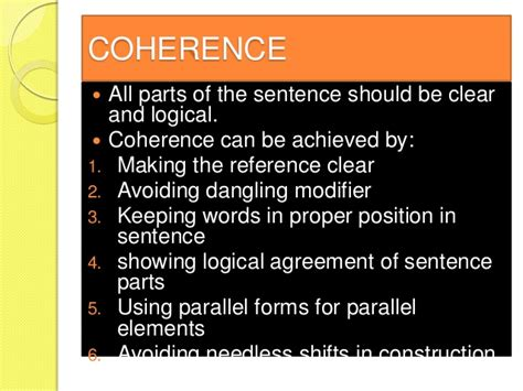 couch in a sentence characteristics of a good sentence lecture 1 writing