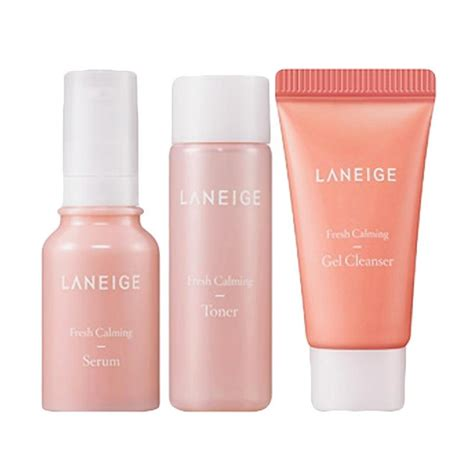 Harga Laneige Fresh Calming Serum jual laneige fresh calming trial kit harga