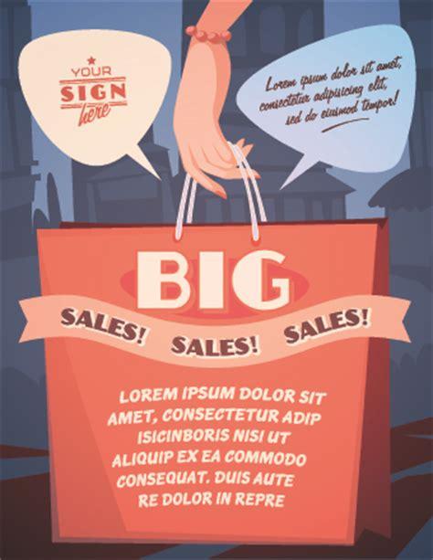 design poster promotion sales promotion poster design vector 05 over millions