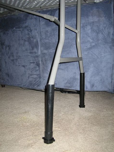 bed height extenders raise the height of your table with pvc pipe cheaper than
