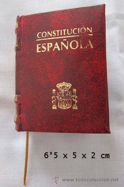libro constitucin espaola 29 de mini libro constitucion espa 241 ola comprar en todocoleccion 42957662