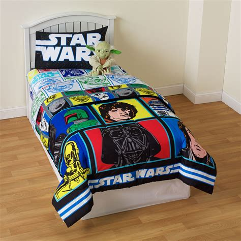 star wars bed sheets star wars kid s twin sheet set