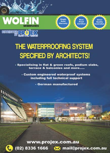 wolfin waterproofing membrane system industrysearch