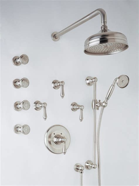 Rohl Country Thermostatic Kit Shower Trim Traditional Bathroom Shower Heads And Taps