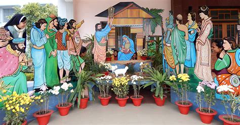 christmas pullkoodu creation photos merry cribs of snds in asia oceania 187 archive 187 congregation of the of