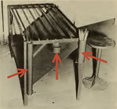 diy welded table legs welding table build
