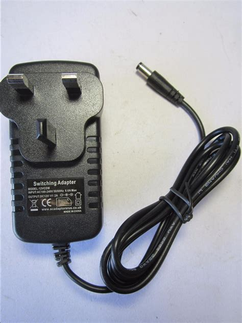 Adaptor Mixer 12v mains numark n4 ns6 decks and mixer ac adaptor power supply charger ebay