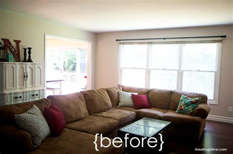 livingroom makeover living room makeover with jo and hgtv home fabric i