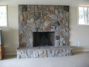 Fieldstone Fireplace Boral Cultured Dressed Fieldstone Traditional Living Room Detroit By Brighton