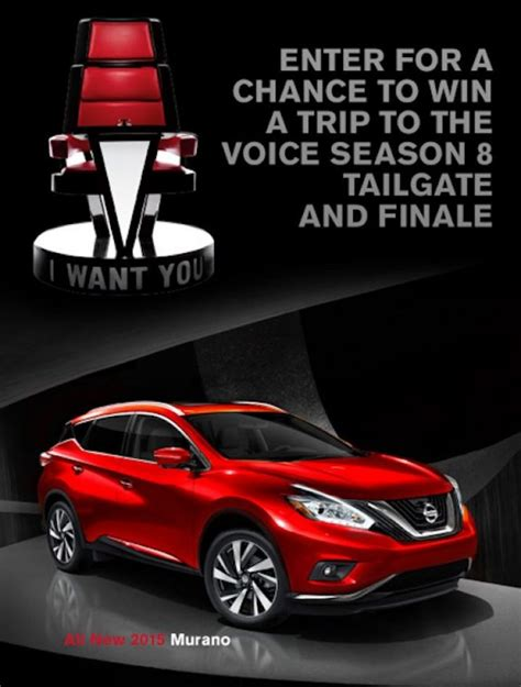 Nissan Sweepstakes 2014 - nissan voice sweepstakes sweepstakes pit