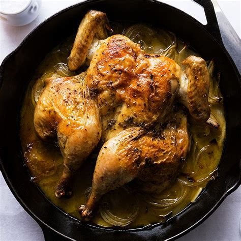skillet roasted lemon chicken ina garten 25 best ideas about spatchcock chicken on pinterest