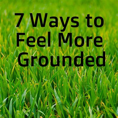 7 Ways To Feel At Home In A New Place by 7 Ways To Feel More Grounded Sancti