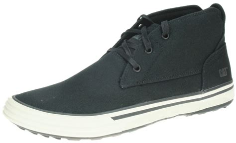 caterpillar cat mens esteem mid canvas hi top chukka