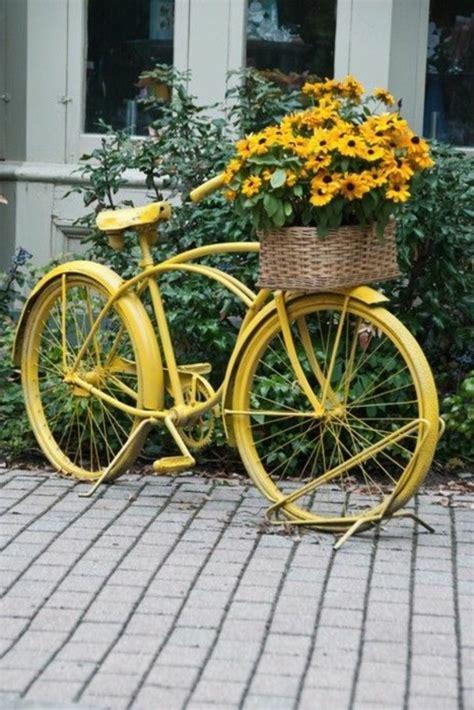 Gartendeko Fahrrad by Wundersch 246 Ne Bunte Gartendeko