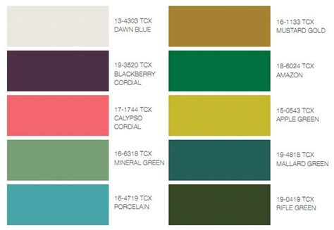 colour trends unbreakable diamond color trends fall 2011