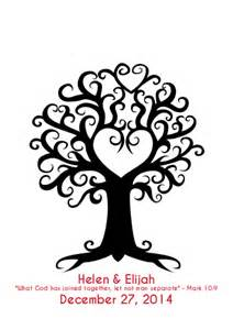 Wedding Tree Template by Fingerprint Tree Created Instantly Fingerprint Tree