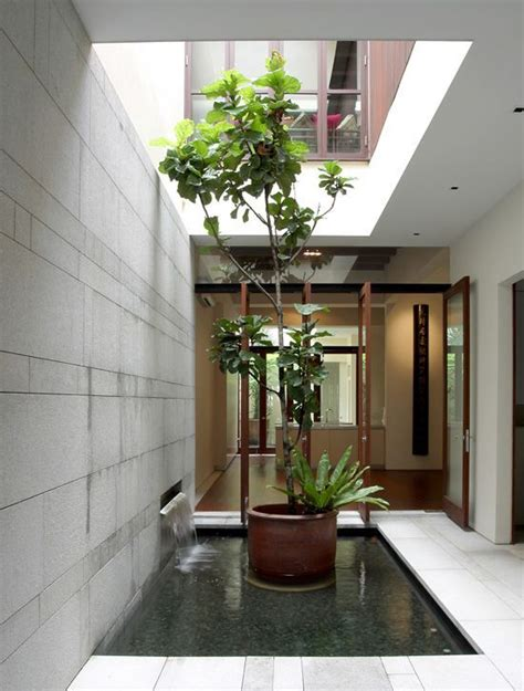 indoor courtyard internal courtyard or an airwell typical to most