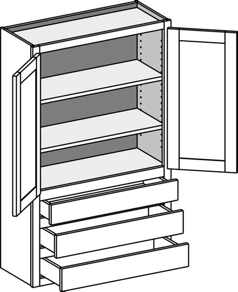 line drawer home office media cabinets cabinet joint