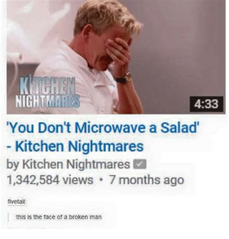Kitchen Nightmares Netflix Censored Kitchen Nightmares Memes Of 2017 On Sizzle Clock