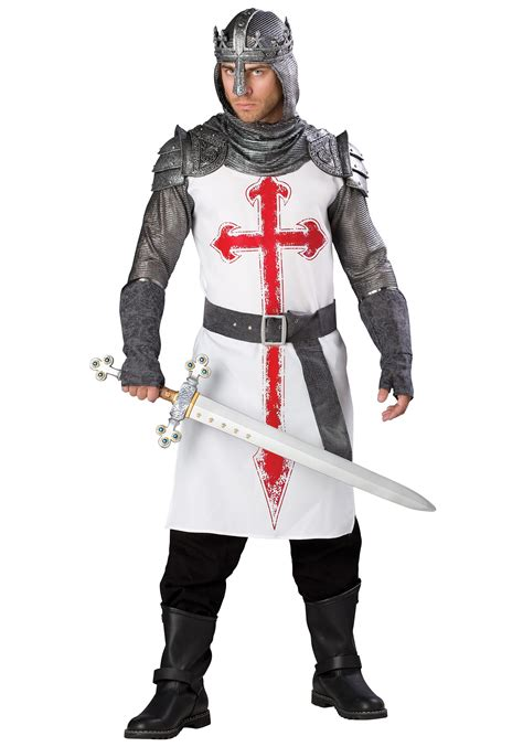 men s crusader knight costume