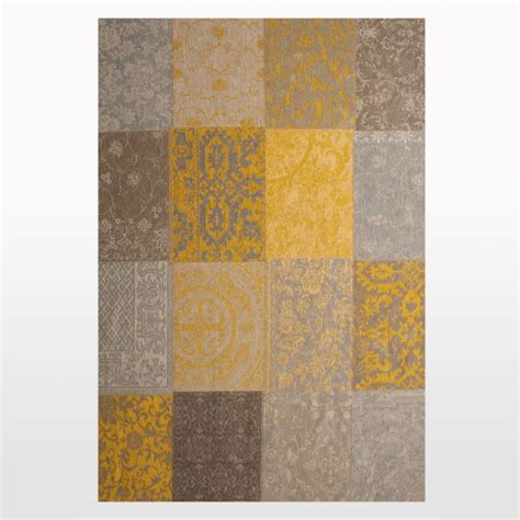 clearance rug clearance sale rug in yellow patchwork and distressed rug