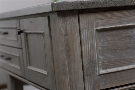 driftwood gray kitchen cabinets weathered wood kitchen island contemporary kitchen