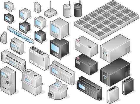 plc visio stencil vrt network equipment vrt systems