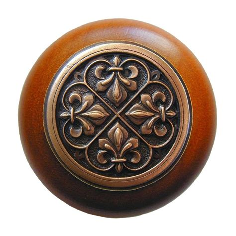 fleur de lis cabinet knobs shop notting hill olde world fleur de lis cherry antique