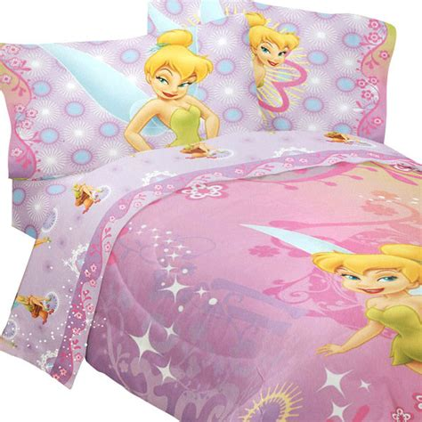 tinkerbell bedding disney fairies tinkerbell whimsy 4 piece twin bedding set