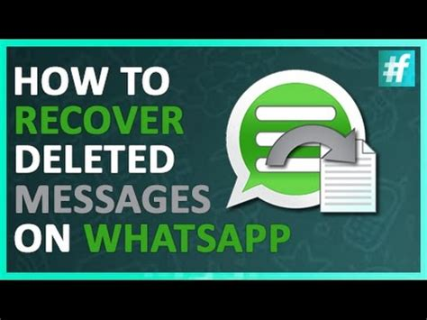 tutorial how to restore deleted whatsapp messages on how to decrypt whatsapp messages how to save money and