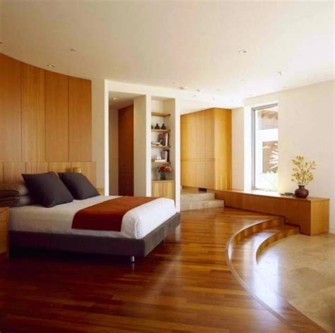 Bedroom Flooring Ideas 15 Amazing Bedroom Designs With Wood Flooring Rilane Bedroom Wooden Floor Ideas
