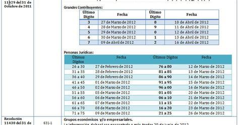 Calendario Contador Contador Publico Calendario 631 Et Exogena 2012