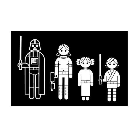 Auto Sticker Star Wars by Star Wars Family Car Stickers Www Pixshark Images