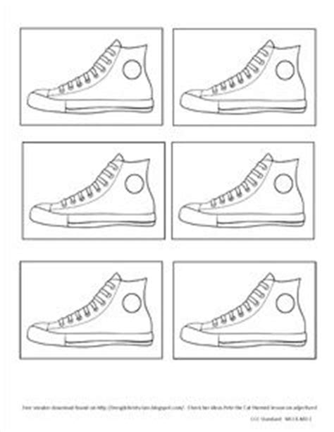 pete the cat shoe template 1000 images about preschool pete the cat on