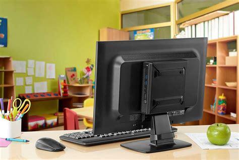 small desk top hp desktop mini security dual vesa sleeve
