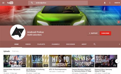 youtube new layout 2016 you can enable a new material design on youtube tubefilter