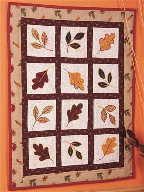 Free Fall Quilt Patterns by Quilting Autumn Northwest Autumn Wall Quilt Pattern