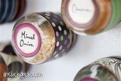 diy magnetic spice rack baby food jars diy craft zone diy magnetic spice jars diy craft zone