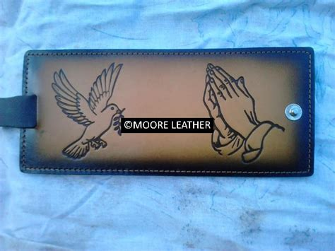 Dove Wallet by Dove And Peace Leather Wallet